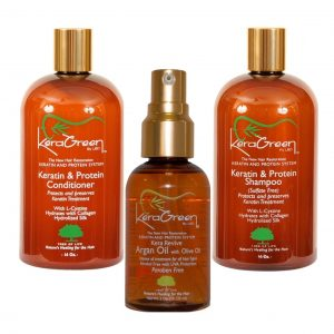 Keragreen Bundle - Shampoo, conditioner and Argan Oil
